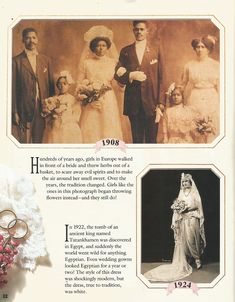 American Girl Magazine - January 1993/February 1993 Issue - Page 23 (Part 4 of Looking Back - Wedding Album)