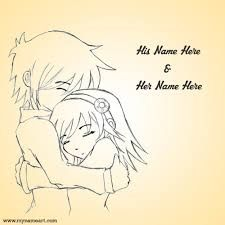 Image result for cute couple sketches to draw Cute Couple Sketches, Drawings Of Love Couples, Easy Love Drawings, Sketches Of Love, Couple Drawings, Pencil Drawing Images, Pencil Drawings Of Love, Name Drawings, Cartoon Drawings