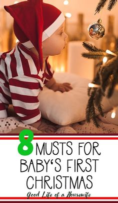 Trendy Baby First Christmas Mom First Christmas Photos, Babys 1st Christmas, Christmas Mom, Baby Christmas Crafts, Baby Christmas Pictures, Christmas Traditions Kids, Christmas Gifts For Babies, Christmas For Toddlers, Babys First Thanksgiving