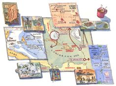 Michele Tranquillini - Fantastic map illustrator