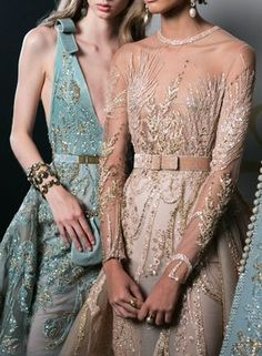 Elie Saab is inspired by Game of Thrones for his gorgeous new collection . - Chic dresses - Elie Saab draws inspiration from Game of Thrones for his gorgeous new collection … - Elie Saab Couture, Style Haute Couture, Couture Details, Haute Couture Dresses, Fashion Week, Runway Fashion, Ski Fashion, Moda Fashion, Fashion Trends