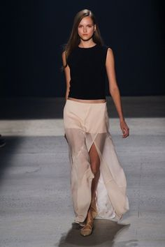 Narciso Rodriguez spring 2014   NY fashion week