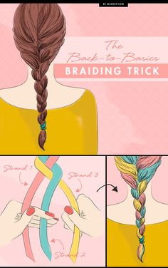 Sure, you know how to braid, but does it look a little haphazard? There's a good chance it's all in your grip. We have the shoe-lace trick that will solve your hair braiding woes!