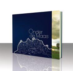 "Niekfabriek cover design for a 144 pages richley illustrated book, called ""Onder de Maas"". Illustration: niekfabriek"