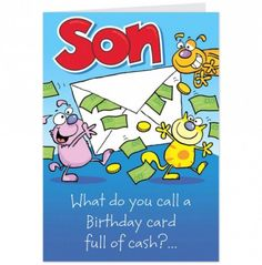 Funny Birthday Quotes for Son