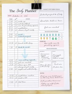 Money Discover Daily Planner Printable Daily to do list Planner insert Daily Schedule Daily docket planner inserts Daily Planner Printable Daily to do list Planner insert Daily Planner Pdf, To Do Planner, Passion Planner, Life Planner, Weekly Planner, Daily Agenda, College Planner, Planner Tips, College Tips