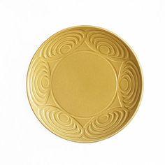 Japanese Dinner Plate Yellow 24cm