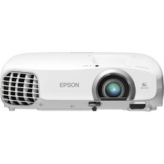 Epson - PowerLite Home Cinema 2030 2D/3D 1080p 3LCD Projector - White - Front Zoom