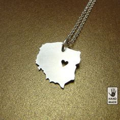 Wonderful Poland necklace. Great way to support adoption!  Other countries can be ordered too!