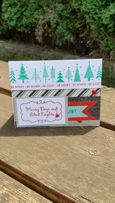 """CTMH """"Snowhaven kit"""" Stampin Up Christmas, Christmas In July, Silent Night, Close To My Heart, Card Making, Workshop, Merry, Snow, Pendant Jewelry"""