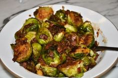 Pamela Salzman's Brussels Sprouts with Bacon & Dates (Inspired by Gjelina)