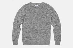 Everyday Marled Knit, Grey Heather