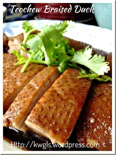 Teochew braised duck or lor ark ark recipes ark and teochew braised duck or lor ark forumfinder Gallery