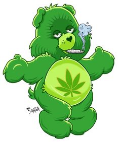 Care Bears Got High by stephfaith on DeviantArtYou can find Care bears and more on our website.Care Bears Got High by stephfaith on DeviantArt Smoke Drawing, Bear Drawing, Care Bears, Cannabis, Care Bear Tattoos, Graffiti, Trippy Drawings, Smoke Weed, Childhood