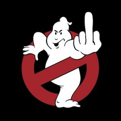 Camiseta chica Los Cazafantasmas (Ghostbusters). Logo peineta