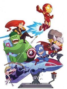 Mini-Avengers nerd-geek-stuff
