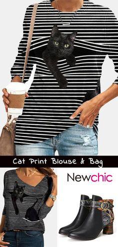 Cute Black Cats, Handbag Patterns, Tote Pattern, Retro Floral, Canvas Shoulder Bag, Cross Body Handbags, Creations, Outfit Ideas, Women