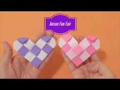 Origami Tutorial, Origami Easy, Easy Crafts, Diy And Crafts, Paper Crafts, Fun Fair, Paper Craft Supplies, Youtube, How To Make