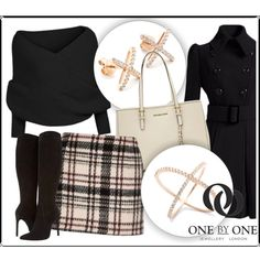 SHOP - One by One Jewellery by ladymargaret on Polyvore featuring polyvore, fashion, style, Stuart Weitzman and MICHAEL Michael Kors