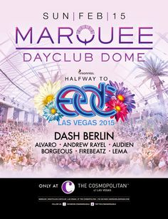Anew Productions: Halfway to EDC Las Vegas 2015 at Marquee Dayclub