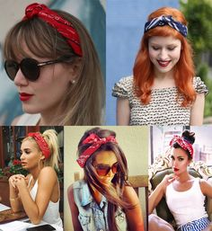 68 ideas how to wear a bandana in your hair articles hair howtowear is part of Bandana hairstyles - Bandana Hairstyles Short, Headband Hairstyles, Braided Hairstyles, How To Wear Bandana, How To Wear Headbands, Bandana In Hair, 1950 Pinup, Coiffure Hair, Pin Up Hair