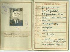 Wehrpass von Bernt Engelmann - Deutsche Digitale Bibliothek