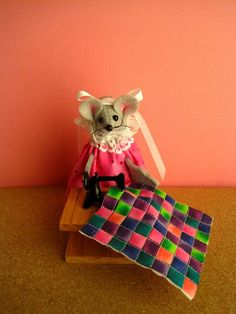 Quilting at a Sewing Machine by atticmouse on Etsy, $13.00