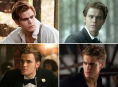 Stefan's Hair Through the Years