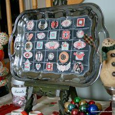 ~Silver Tray Advent Calendar~ Maya Road