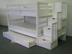 """Двухъярусная кровать """"Модерн с ящиками"""" - купить в интернет-магазине"""