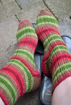 Nice Ribbed Sock pattern