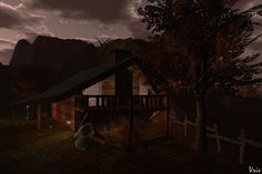 """Check out the Second Life Pic of the Day, """"Our New Home"""", photo by Vrir."""
