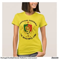 Portugal Football Soccer Futbol T-Shirt