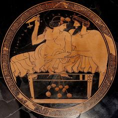 Prostitution in ancient Athens was legal and regulated by the state. During the Greek Archaic Period (c. 800-479 BCE) brothels were instituted and taxed by the lawgiver Solon (l. c. 630 - c. 560 BCE), and this policy continued into the Classical Period (480-323 BCE). For many Athenian women, prostitution was the only way to make a living. Ancient Greek Art, Ancient Greece, Ancient History, Greece History, Classical Greece, Classical Period, Greek Mythology Art, Greek Pottery, Roman Art