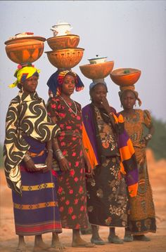 """The word Niger comes from the latin word meaning """"negros"""". Since Niger flows throughout the land of many negros the Arabs decided to name it Niger Out Of Africa, West Africa, African Tribes, African Women, African Beauty, African Fashion, Ankara Fashion, African Style, Folklore"""