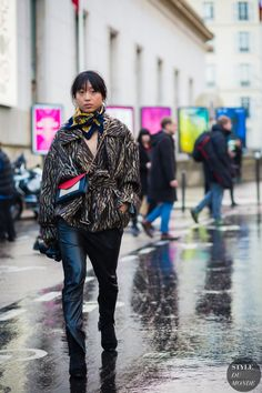 Margaret Zhang Street Style Street Fashion Streetsnaps by STYLEDUMONDE Street…
