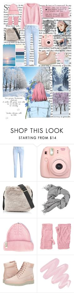 """Spring Day"" by bakewell707 ❤ liked on Polyvore featuring Polaroid, Fujifilm, Furla, Bobbl, San Diego Hat Co., Columbia, Timberland, Obsessive Compulsive Cosmetics and Marc Jacobs"