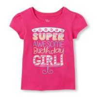 awesome birthday graphic tee