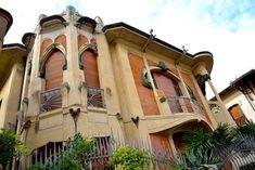 Italian Liberty, censimento fotografico degli edifici Art Nouveau, Villino di Giovanni Michelazzi a Firenze, foto di Massimo Evangelisti