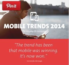 """Mobile Trends 2014″ Infographic http://blog.cebit.de/2014/02/21/infographic-mobile-trends-2014/"
