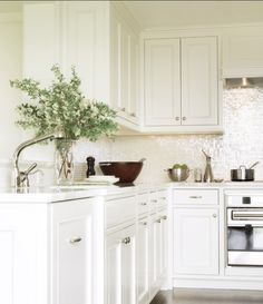honey oak cabinets makeover | ... of many photos that inspired me to paint my kitchen cabinets white