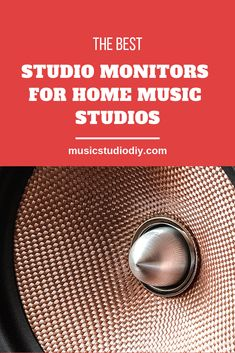 A collection of the top Studio Monitor Speakers for music production. Find the best fit Music Studio Decor, Home Studio Music, Studio Equipment, Dj Equipment, Music Production Equipment, Recording Studio Setup, Design Studio Office, Monitor Speakers, Music Studios