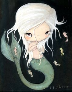 Hey, I found this really awesome Etsy listing at https://www.etsy.com/listing/94123944/mermaid-print-nautical-girl-seahorse