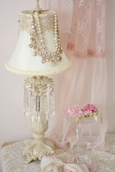 Beautiful Vignette, the Sheer Lace Pink Drape, ɭ0ƲᏋ, all of it~❥