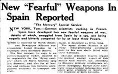 Cuando un periodista canadiense acusó a Franco de construir 'platillos volantes' con ayuda de los nazis - Cuaderno de Historias