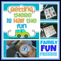 great ideas for road trips. love how she organizes them. Family Fun Freebie for Car Trips