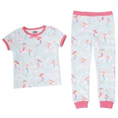 Mud Pie Little Chick Open Top and Geometric Print Pants Two Piece Set