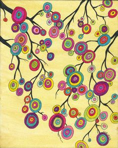 Lollipop Trees by Valerie Lorimer  http://www.valerielorimer.com