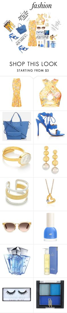 Dinner by theresagray31 on Polyvore featuring Tabitha Simmons, DKNY, Roberto Coin, Maya Magal, Elizabeth and James, TOMS, Huda Beauty, Chantecaille, Black Radiance and Thierry Mugler