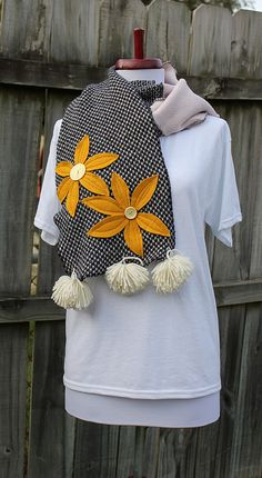 recycled sweater scarf, great!